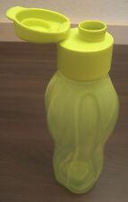 Tupperware C 139 Eco Easy 750 ml Trinkflasche Trinkverschluss Gelb-Grün Neu OVP