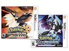 Pokemon Ultra Sun & Pokemon Moon Single Game or COMBO Nintendo 3DS Order today!
