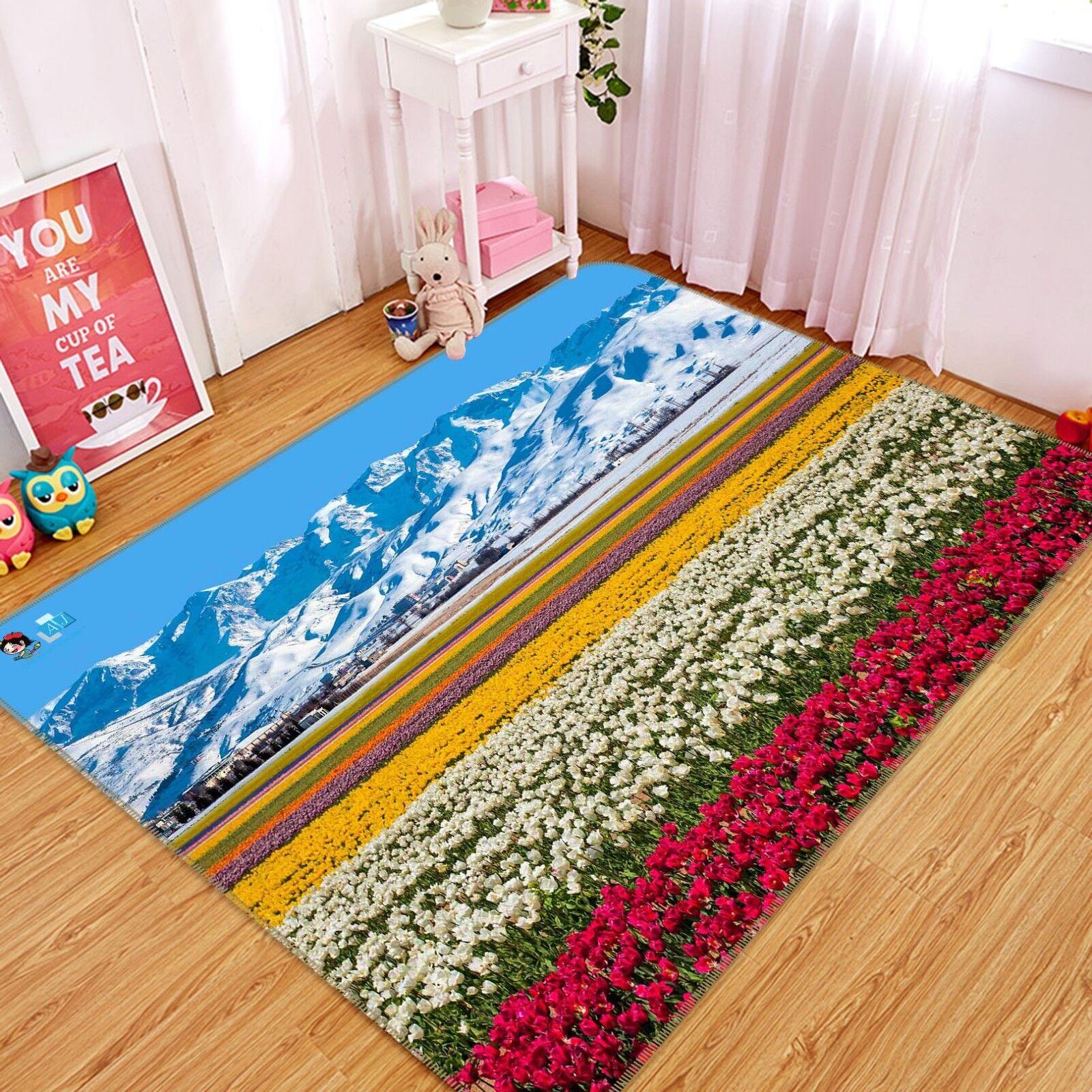 3D FIORI SKY 05 tappetino antiscivolo tappeto camera Tappetino Qualità Elegante foto Tappeto UK COBB