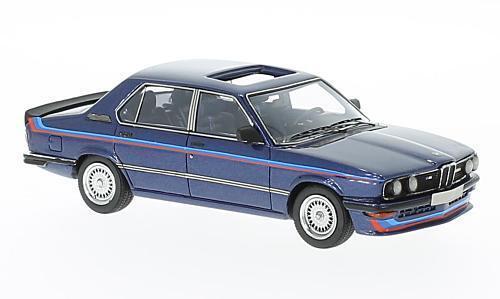 BMW M535i (E12)  Dark bluee Metallic Metallic Metallic with Stripes  1978 (Neo Scale 1 43   49540) 421210