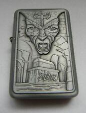 Raised Graphic Hall of Dracula Dark Prince Star Cigarette Lighter