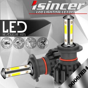 2x H7 LED Headlight Kit 180W 295000LM High-Low Beam Bulb CREE 6500K Lamp White
