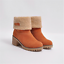 Womens-Winter-Solid-Flat-Buckle-Short-Snow-Boots-Warm-Casual-Fashion-Shoes-Size thumbnail 16