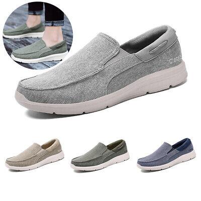 summer retro canvas shoes men's casual shoes lace up slip