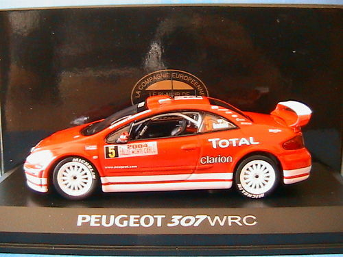 PEUGEOT PEUGEOT PEUGEOT 307 WRC   5 MONTE CARLO GRONHOLM NOREV 473792 2c7564