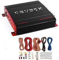 Crunch Px-1000.4 4 Channel 1000 Watt Amp Car Stereo Amplifier + Wiring Kit on Sale