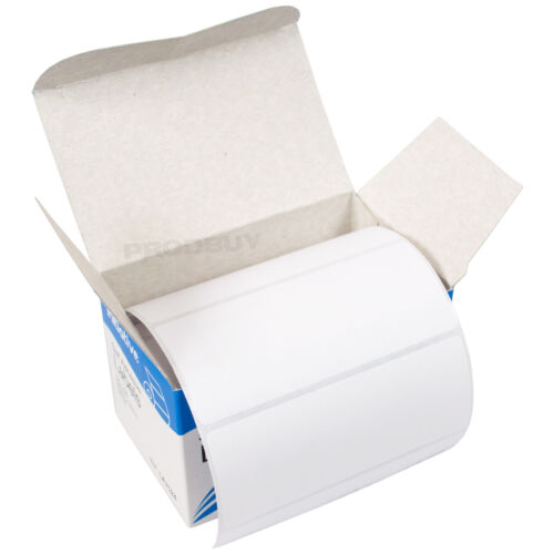 1 x Roll of 250 White Address Label Stickers Blank Self Adhesive 89mm x 36mm