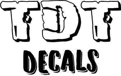 TDT Decals