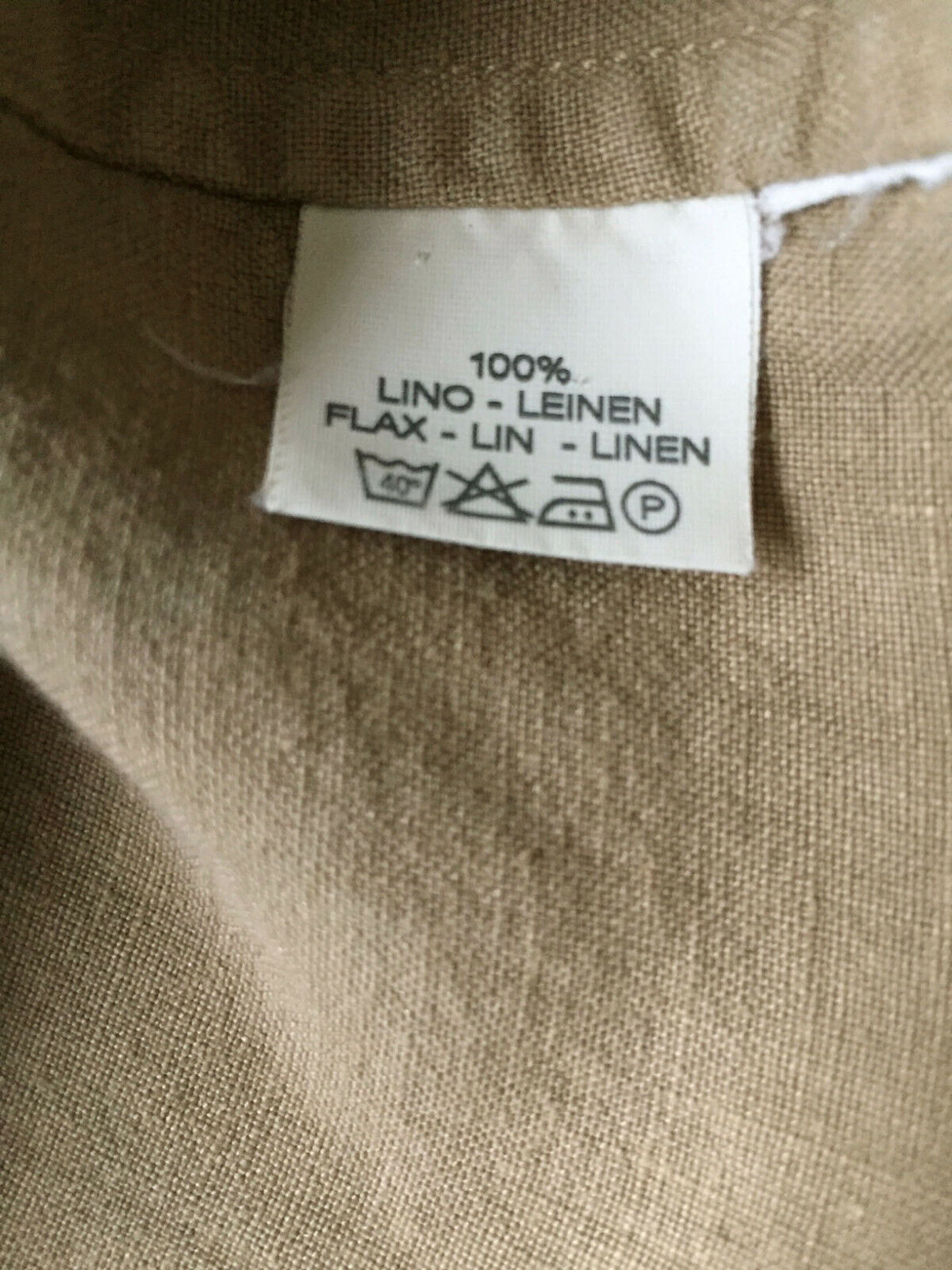 ETRO Womens Sz 44 / US 8 Tan Linen Jacket French … - image 5