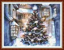 "'VICTORIAN CHRISTMAS TREE' Cross Stitch Chart/Pattern (16¾""x12½"") Xmas NEW"