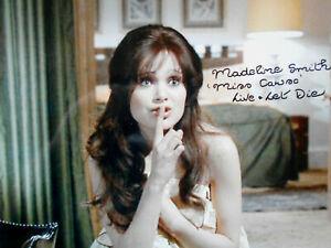 MADELINE SMITH original signiert – GROSSFOTO - 007