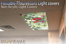 Fluorescent Light Panel Diffuser Film Pine Berry Ceiling Decorative Picture  11