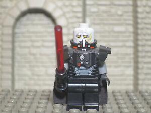 Lego Star Wars Minifigure Sith Darth Malgus w// Lightsaber 9500 EUC!