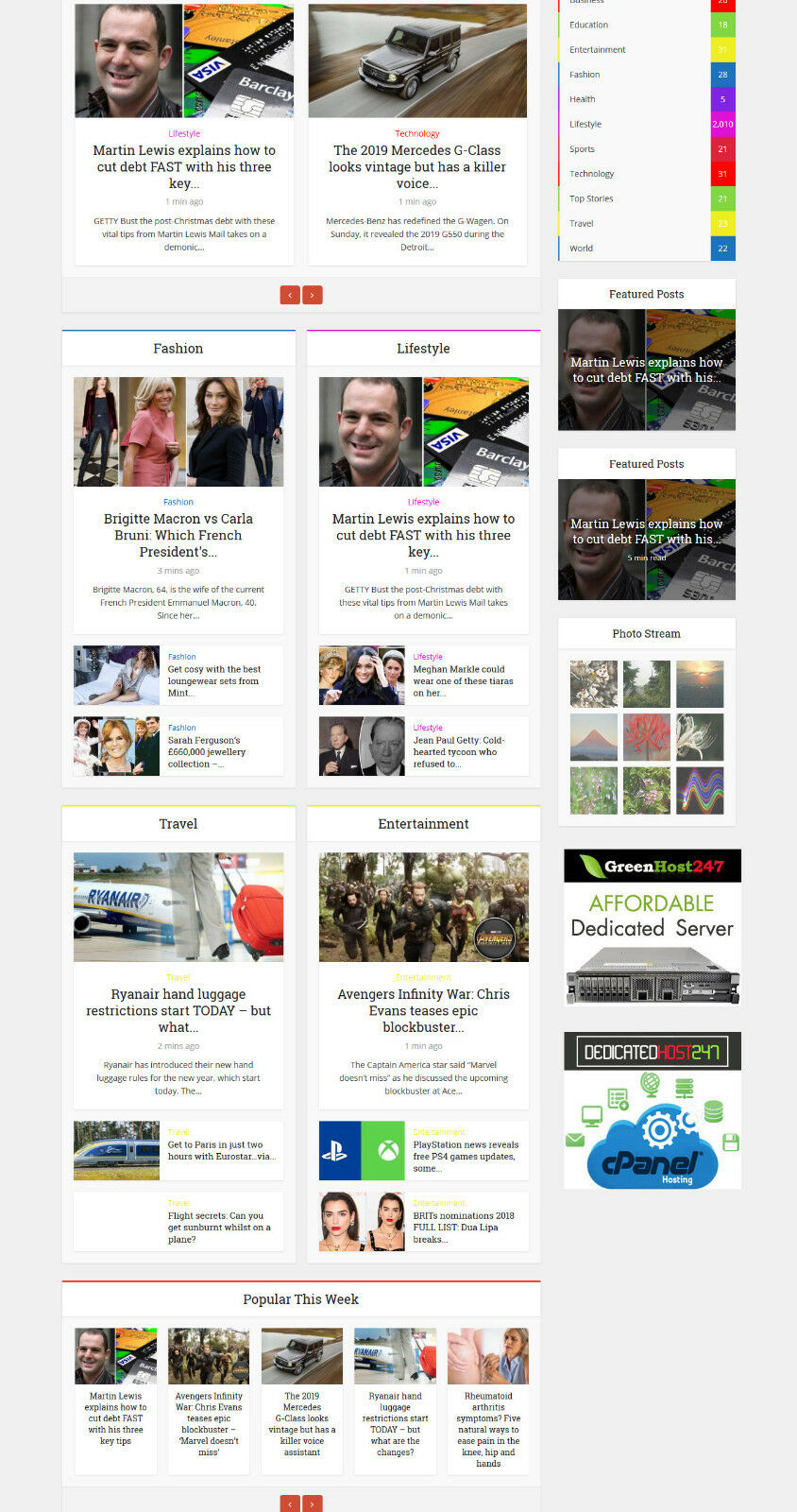 Automated Wordpress Based News WebSite 2