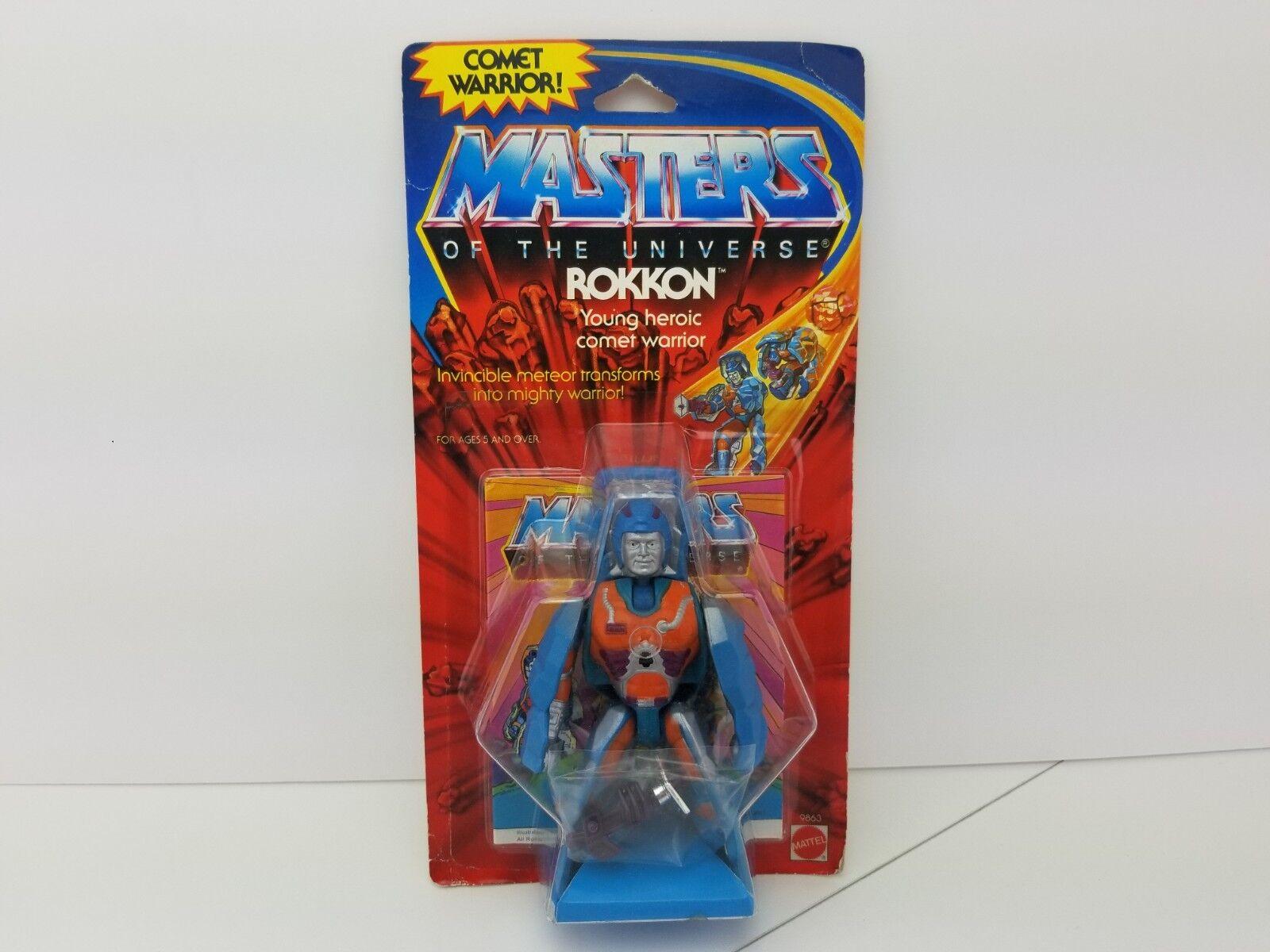 Masters of the universe vintage moc Rokkon 1985 MOTU
