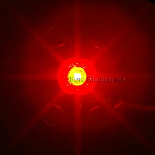 5pcs 3W Red High Power LED Star 110LM 3 Watt Lamp Light