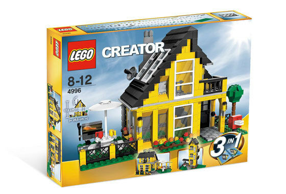 BRAND NEW Lego CREATOR BEACH HOUSE 4996