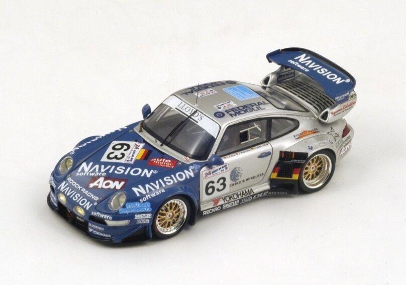 Porsche 911 GT2  63 Haupt-Price-Robinson  Le Mans   1999 (Spark 1 43   S4182)  shopping en ligne