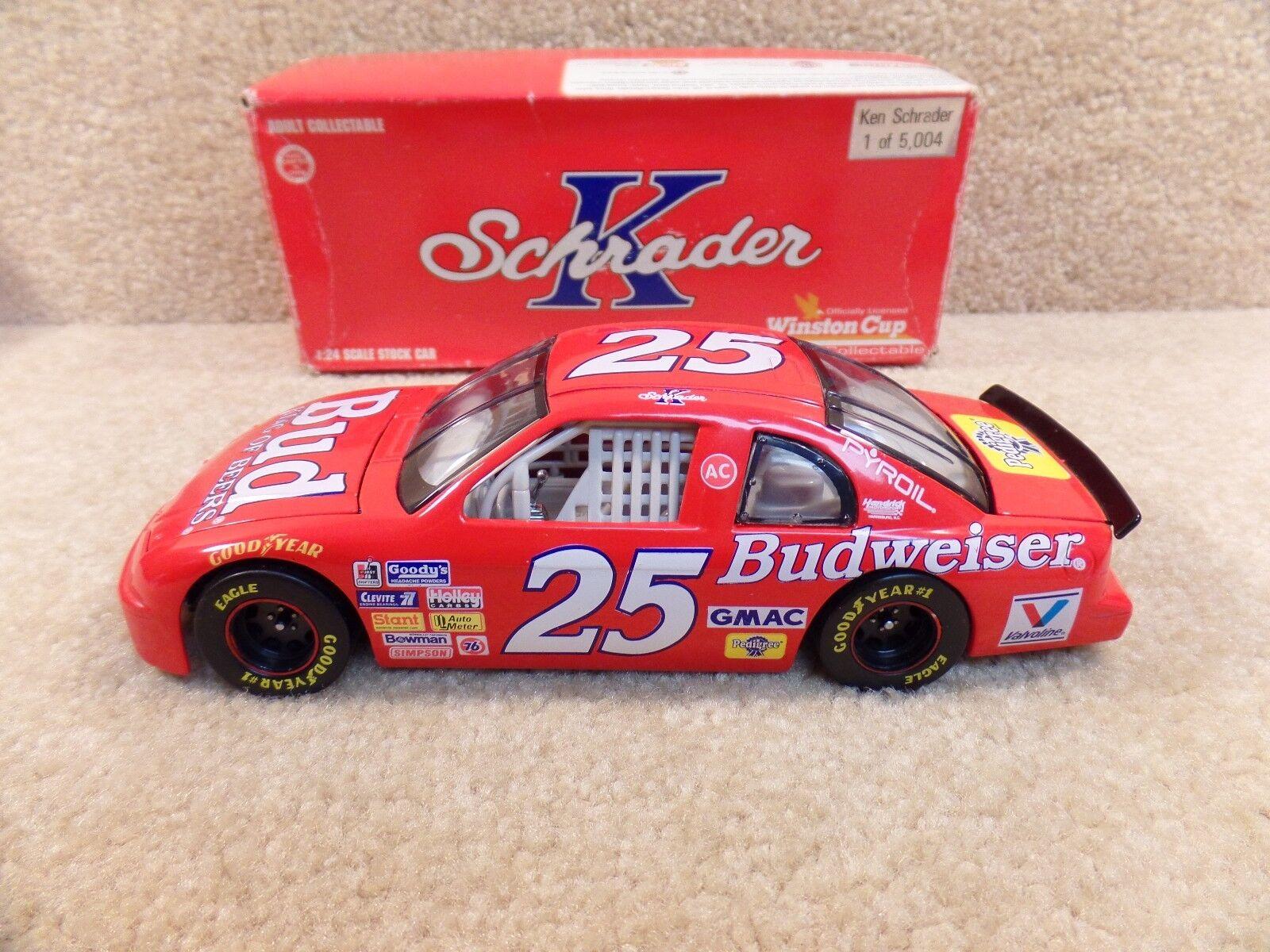 New 1995 Action 1 24 Scale Diecast NASCAR Ken Schrader Bud Budweiser Monte  25