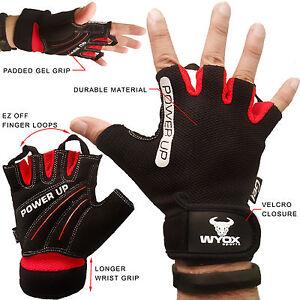 WYOX-Sports-Course-Cyclisme-Moto-Velo-De-Montagne-Velo-Gel-moitie-doigt-Gants
