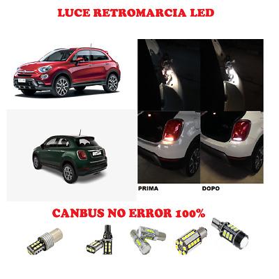 LAMPADA RETROMARCIA 13 LED T15 W16W CANBUS PER FIAT 500 RESTYLING  SUPER WHITE
