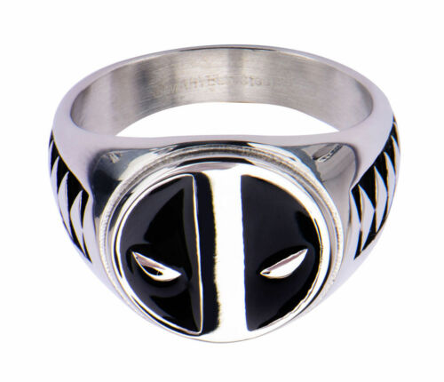 Deadpool Logo Stainless Steel Ring
