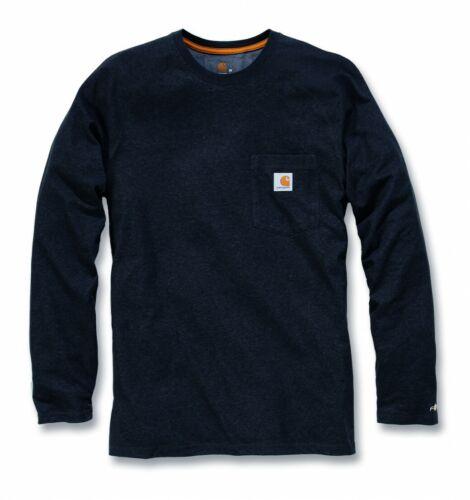 Carhartt Camisa Camiseta Mangas Largas Pullover Transpirable Nuevo S a XXL