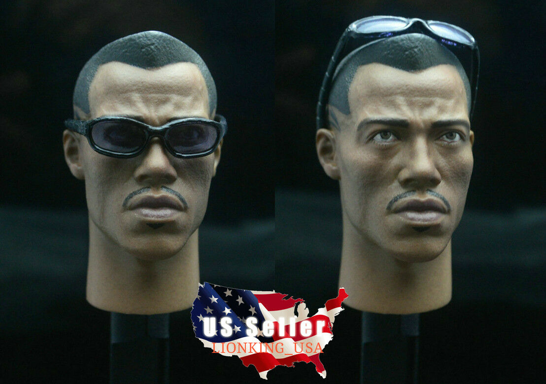 1 6 BLADE II Vampire Killer WESLEY SNIPEF Head Sculpt For Hot Toys Figure ❶USA❶