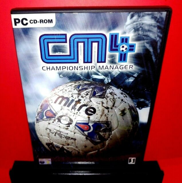 Championship Manager 4-CM4 PC CD ROM W/Booklet B362