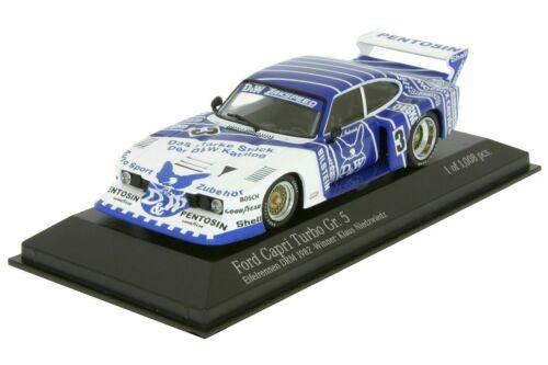 Ford Capri Turbo Zakspeed Niedzwiedz DRM Nürburgring 1982 D/&W 1:43 Minichamps