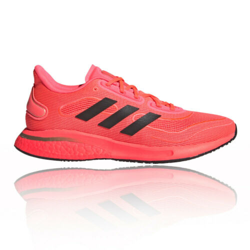 adidas Womens Supernova Running Shoes Trainers Sneakers Orange Sports Breathable