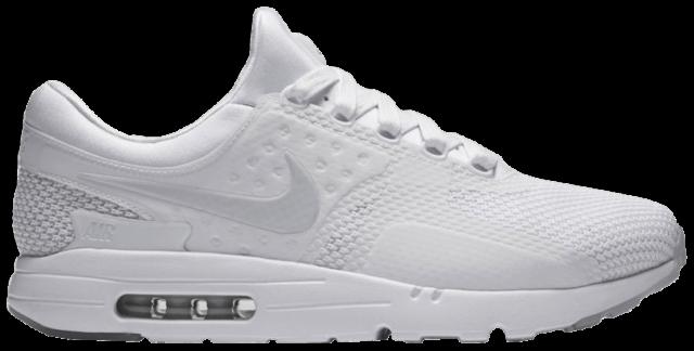 estaño italiano lb  Nike Air Max Zero SE Running Shoe for Men - White for sale online | eBay