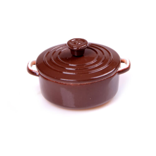 1:12 Dollhouse-Miniature Mini Pot Boiler Doll House Accessories Play Kitchen XX