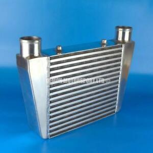 FMIC-Front-Mount-Alloy-Intercooler-330-x-280-x-76mm-Core-Universal-2-5-034-In-Out