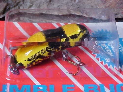 "Rebel 1 1//2/"" BUMBLE BUG 7//64oz Ultralight Crankbait for Perch//Trout//Crappie"