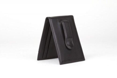 Bosca Model 90-100-N Nappa Vitello Front Bifold Wallet