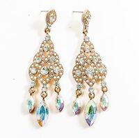 Vintage Style Earrings Costume Jewelry Fashion Bohemia Drag Queen Prom Gem Bride