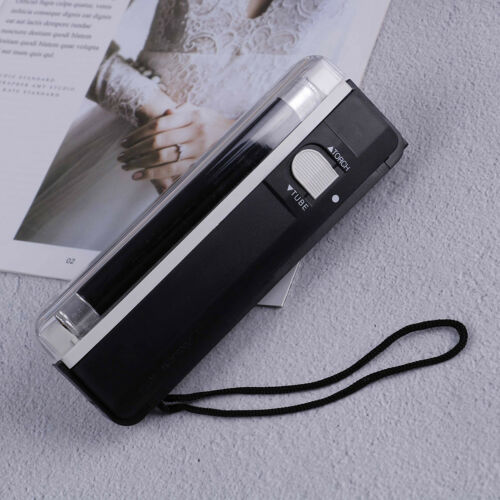 Mini portable ultra violet UV light lamp torch with LED flashlight In  ka