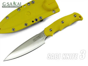 G-Sakai-11499-SABI-KNIFE3-Double-edge-Strong-against-rust-Yellow-from-Japan