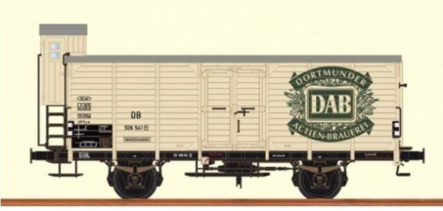 """Brawa 49042 H0 Ged.Güterwagen G10 /""""Schlösser Alt/"""" DB Ep.3 NEU//OVP"""