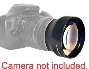 2.2 X Telephoto Lens for CANON REBEL 300D 350D T3I T5I T4I HD OPTICAL GLASS