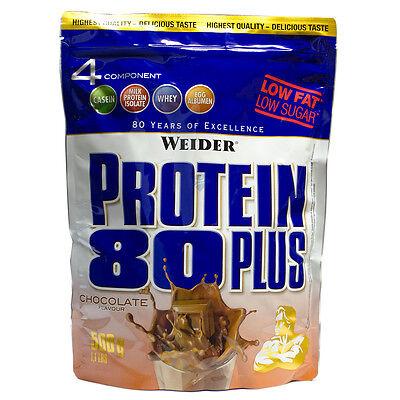 21,98€/kg,Weider Protein 80 plus,  500g Eiweiss Beutel  MHD ANGEBOT