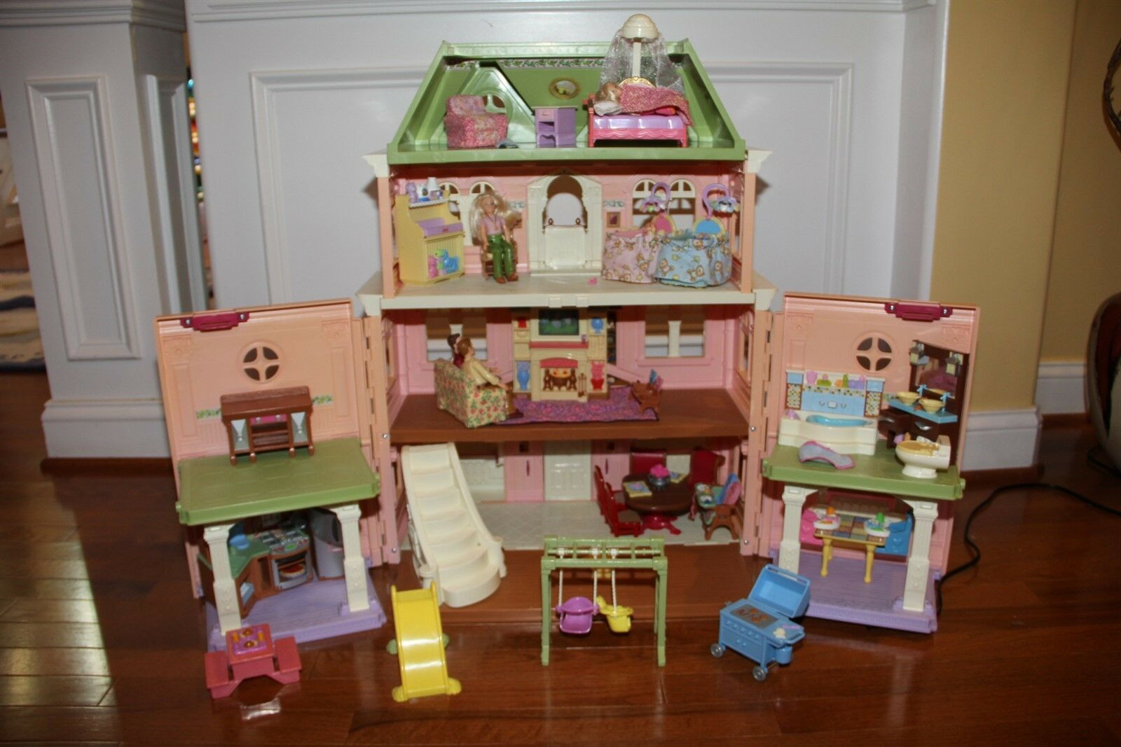 Fisher Price Loving Family Grand dockhus Large Set EUC