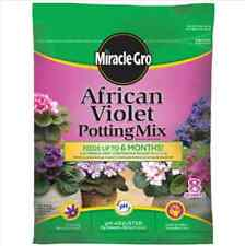 Miracle-Gro, 8 QT, African Violet Potting Soil Mix Rich, organic materials
