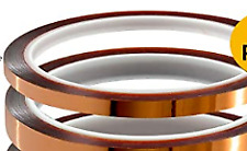3mm X 36yrd Kapton High Heat Polyimide Silicon Adhesive Tape 15mil Thick
