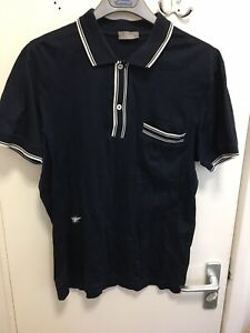 acb86be7 CHRISTIAN DIOR RESORT POLO SHIRT BEE RARE SIZE MEDIUM M BLUE | eBay