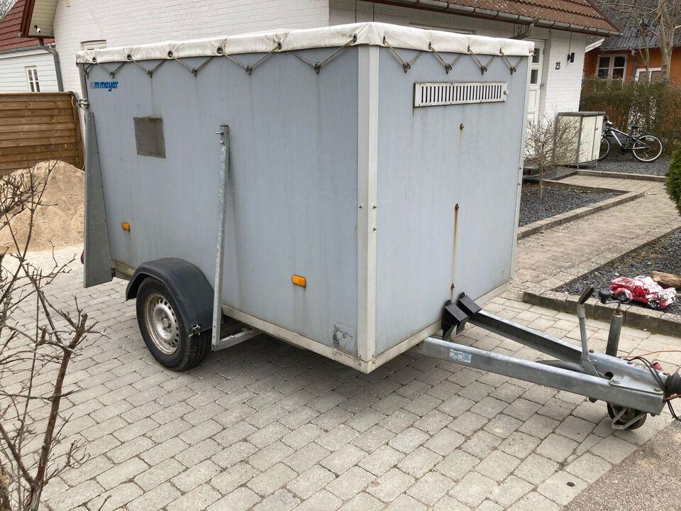 Cargotrailer, Wm Meyer 2005, lastevne (kg): 825