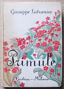LATRONICO - PRIMULE - Ed. Ceschina, 1941 - ill SANDRI* - RARO - Italia - LATRONICO - PRIMULE - Ed. Ceschina, 1941 - ill SANDRI* - RARO - Italia