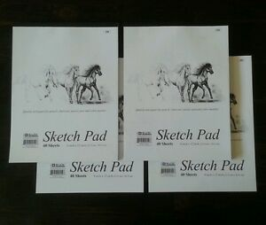 4-x-Sketchbook-9-x-12-Inches-160-Sheets-Premium-Quality-Sketch-Drawing-Paper-Pad