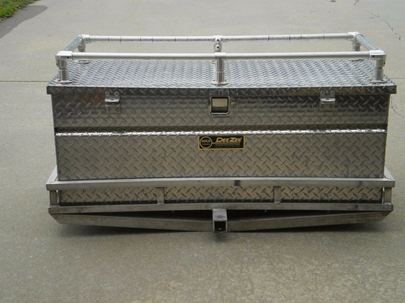 PORTABLE ALL ALUMINUM STORAGE BOX & CARRIER PLUS EXTRAS
